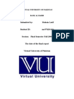 FINNAL Internship Report