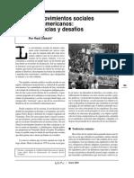 Los movimientos sociales latinoamericanos