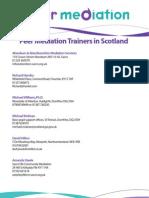 Peer Mediation Trainers