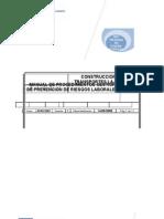 000 Manual de Procedimientos Sistema Gestion Prvencion de Riesgos