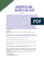 EL ESPÍRITU DE ABSALÓN Y EL G12