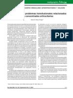 Resolución de problemas transfusionales relacionados