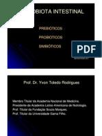 Microbiota - prebiótico e probiótico - Acad Yvon Toledo Rodrigues