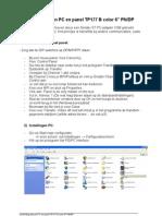 Verb in Ding Tussen PC en Panel TP177 B Color 6 Eigen Versie