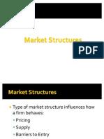 Economics Market Structures