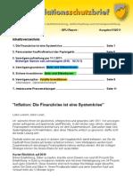 INFLATIONSSCHUTZ-BRIEF Ausgabe 1 / 2011 (der kostenlose Börsenbrief / Börsenmagazin / Fachzeitschrift)