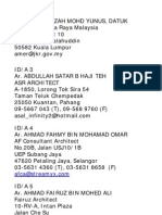 Registered Interior Designers Malaysia 2010