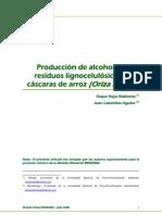 Produccion de Alcohol Residuos Ligno-celulosicos
