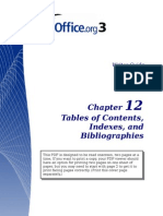 OpenOfficeIndex&Tables
