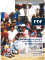 Infeccciones Del Tracto Reproductivo en Mujeres de Las Zonas Rurales Del Perú