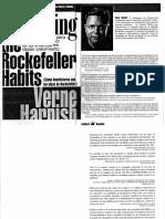 Mastering the Rockefeller Habits - Como beneficionarse con las ideas de Rockefeller