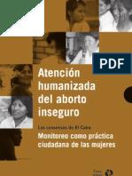 MMR Atención humanizada del aborto inseguro