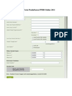 Contoh Form ran PPDB Online 2011