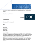 Saudi Arabia Grain Report