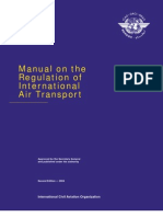 Doc 9626 Manul Air Transport Reg