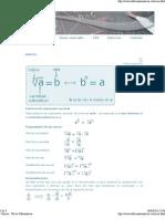 - Raíces - Tal ler Matemáticas