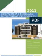 Constructor A e Inmobiliaria Tecom Contratistas Generales Sac