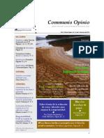 Boletín Communis Opinio - ER - Año 2, No. 24. Del 31 de Marzo del 2010.