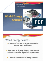 8.2 World Energy Sources PPT ANA - HENRY
