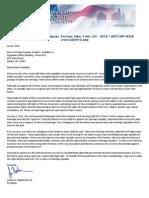 SDNYC Letter to Sen. Joseph Addabbo