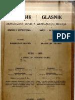 Glasnik Zemaljskog muzeja u BiH [godina 39, sveska 1; 1927.]