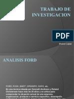 Trabajo de Analisis Ford