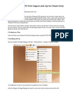 How to Enable NTFS Write Support (Ntfs-3g) on Ubuntu Feisty Fawn