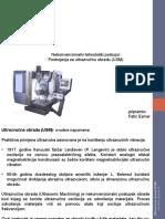 Ultrazvučna obrada- postrojenje