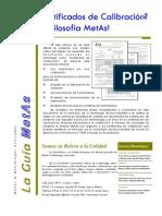 La Guia MetAs 08 10 Certificados de Calibracion