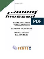 Fentex_Ludwig-Musser VK Prijslijst 2010