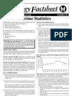 Crime Statistics Curriculum Press
