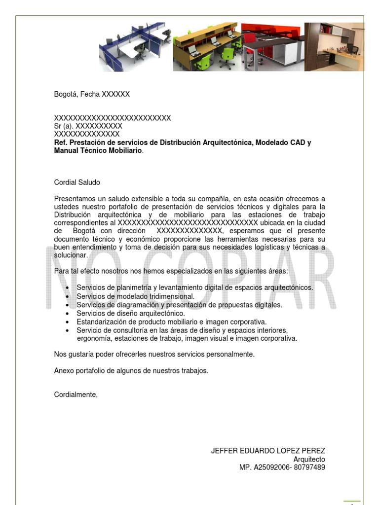 Famoso Copia Carta De Presentación Colección - Ejemplo De Currículum ...