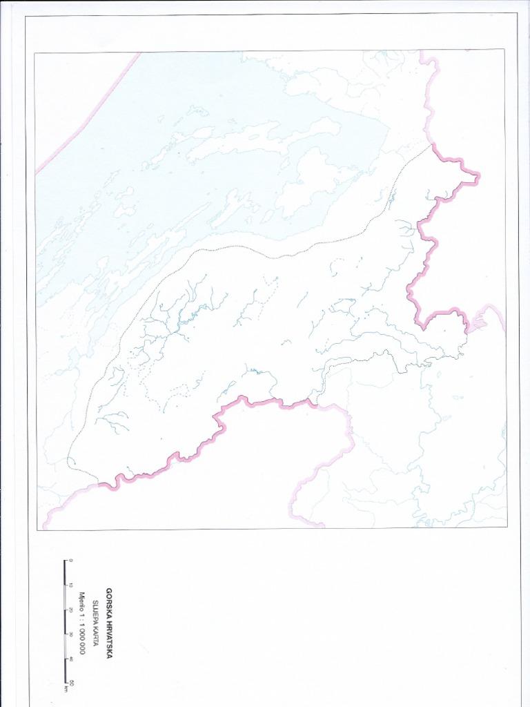 Slijepe Karte Hrvatske