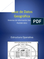Introducción Base de Datos Geográfica