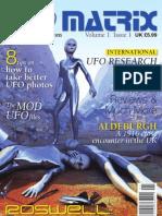 UFO Matrix Issue 1