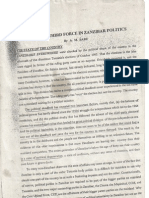 Wanted a Third Force in Zanzibar Politics 1