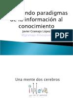 Rompiendo paradigmas de la información al conocimeinto CEADE 2011