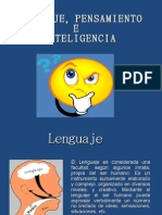Diaposotiva de Lenguaje Pen. e Inteli