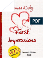 First Impressions How to Win Them All