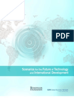 "rockefellar foundation -  ""Scenarios for the Future of Technology and International Development,"