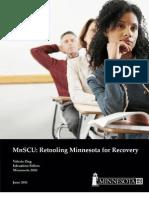 Retooling Minnesota for Recovery