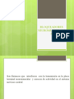 bloqueadores neuromusculares