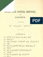 Ojibwa Saulteaux - Bible Amd Gospel History