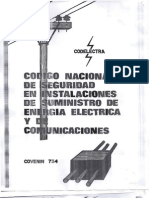 Codigo Nacional de Seguridad en Instalaciones de Suministro de Energia Electrica y de Cominicaciones 734-76