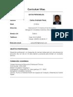 Carlos Andrade Curriculum[2011[1]