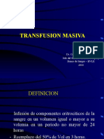 Transfusion Masiva