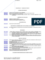 Nevada Foreclosure Statutes, Chapter 107, Deeds of Trust