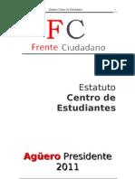 EstatutoFRENTECIUDADANO 2011