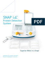 SNAP i.d. Protein Detection System