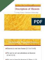 Biblical Description of Heaven